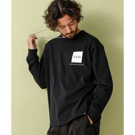 VANS/別注ロングスリーブTシャツ ブラック