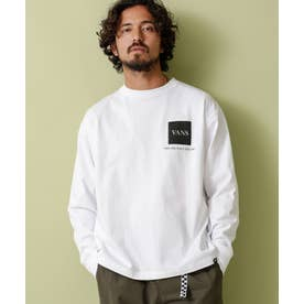 VANS/別注ロングスリーブTシャツ ホワイト