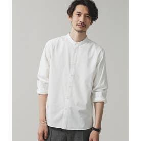 エントリーバンドカラーシャツ ホワイト