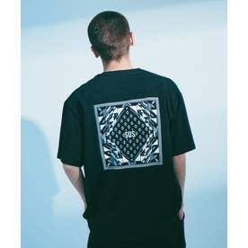 SUS別注 UFバンダナTシャツ/半袖 ブラック