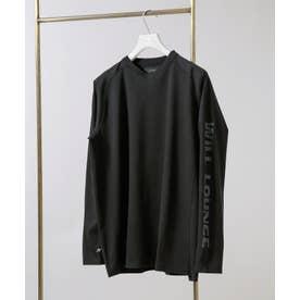 WLG feat AXF フィットラグランTシャツ ブラック