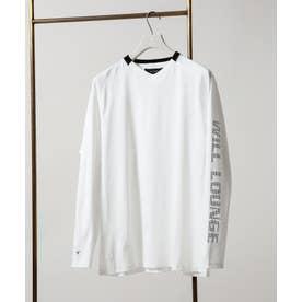 WLG feat AXF フィットラグランTシャツ オフホワイト1