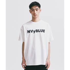 NVy by nano universe プリントTシャツ ホワイト
