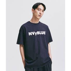 NVy by nano universe プリントTシャツ ネイビー