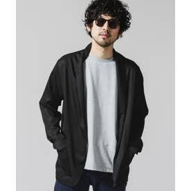 ストールジャケット ブラック