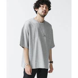 フットボールワイドTシャツ トップグレー4