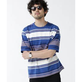 転換ボーダークルーネックTシャツ パターン21