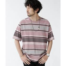 転換ボーダークルーネックTシャツ パターン32