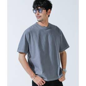 ピグメントクルーネックTシャツ ブルーグリーン2