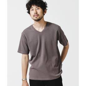《イヤな臭いを軽減》Anti Smell VネックTシャツ 半袖 チャコール3