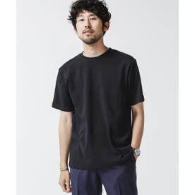 《イヤな臭いを軽減》Anti Smell クルーネックTシャツ 半袖 ブラック