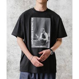 KENJI KUBO フォトTシャツ Ian ブラック