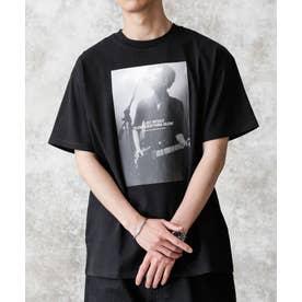 KENJI KUBO フォトTシャツ Thom ブラック