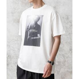 KENJI KUBO フォトTシャツ Thom ホワイト