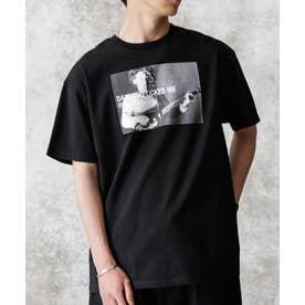 KENJI KUBO フォトTシャツ Robert ブラック