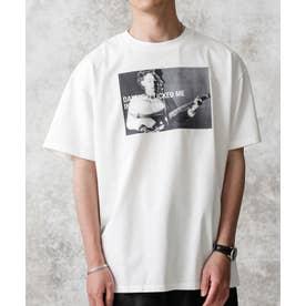KENJI KUBO フォトTシャツ Robert ホワイト