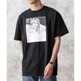 KENJI KUBO フォトTシャツ Kurt ブラック