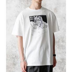 KENJI KUBO フォトTシャツ Kurt ホワイト