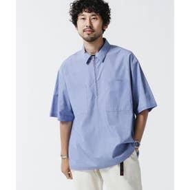 シームレス ハーフZIPシャツ 半袖 パターン1