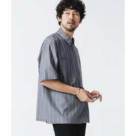シームレス ハーフZIPシャツ 半袖 パターン21