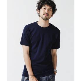 [久米繊維]×NUユニセックスTシャツ ネイビー