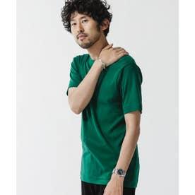[久米繊維]×NUユニセックスTシャツ グリーン