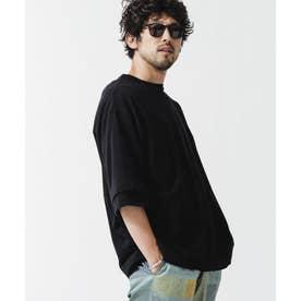 [久米繊維]×NUレイヤードパックTシャツ ブラック