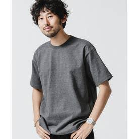 NO MUFFINスタンディングクルーネックTシャツ チャコール3