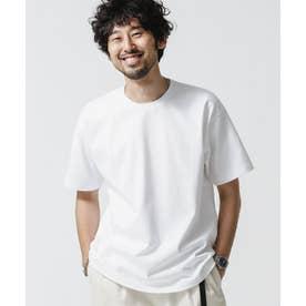 NO MUFFINスタンディングクルーネックTシャツ ホワイト