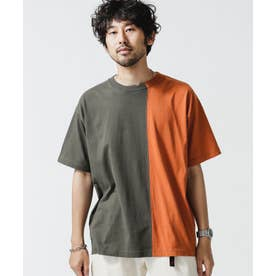 バイカラー切替Tシャツ Type 1 パターン21