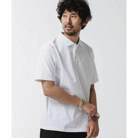 NO MUFFIN スタンディングポロシャツ ホワイト