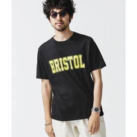 グリーンシティビッグプリントTシャツ ブラック