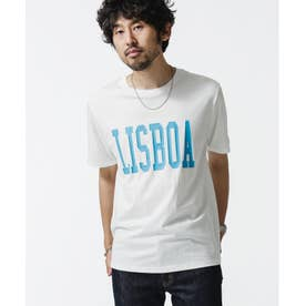 グリーンシティビッグプリントTシャツ ホワイト
