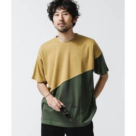 バイカラー切替Tシャツ Type.2 パターン21