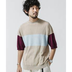 ハイツイストパネルTシャツ パターン1