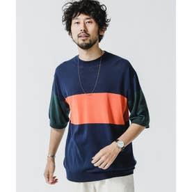 ハイツイストパネルTシャツ パターン21