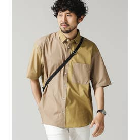 クレイジーソリッドビッグシャツ/半袖 パターン1