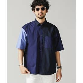 クレイジーソリッドビッグシャツ/半袖 パターン21