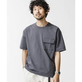 ドライポケットTシャツ/半袖 チャコール3