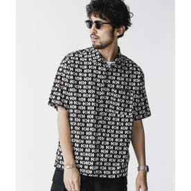 総柄プリントレギュラーカラーシャツ パターン21
