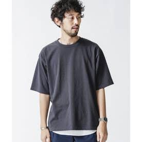 レイヤードTシャツ 半袖 スミクロ1