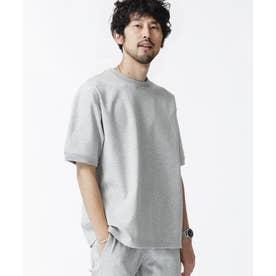 SORONAポンチクルーネックTシャツ トップグレー4