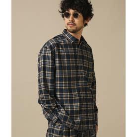 コットンタッチレギュラーカラーワイドシャツ パターン1