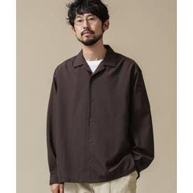 ドロップビッグシャツ 長袖 チャコール3