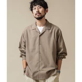 ドロップビッグシャツ 長袖 モカ3