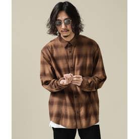 SORONA オンブレーチェックシャツ パターン21