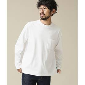 《イヤな臭いを軽減》Anti SmellルーズフィットロングスリーブTシャツ ホワイト