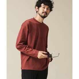 《イヤな臭いを軽減》Anti SmellルーズフィットロングスリーブTシャツ テラコッタ6