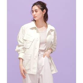 BRING ファティーグシャツジャケット ホワイト