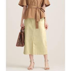 サイドパーツ付きスカート L.イエロー1